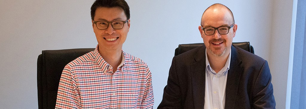 Steven Chua und Volker Lang