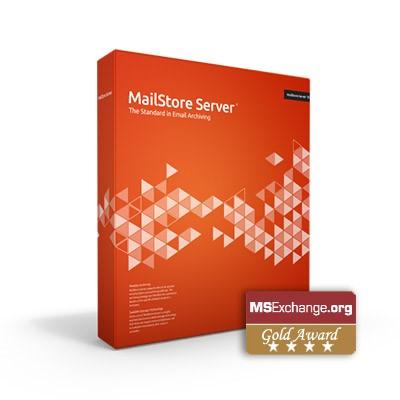 MailStore Server ausgezeichnet mit dem GoldAward
