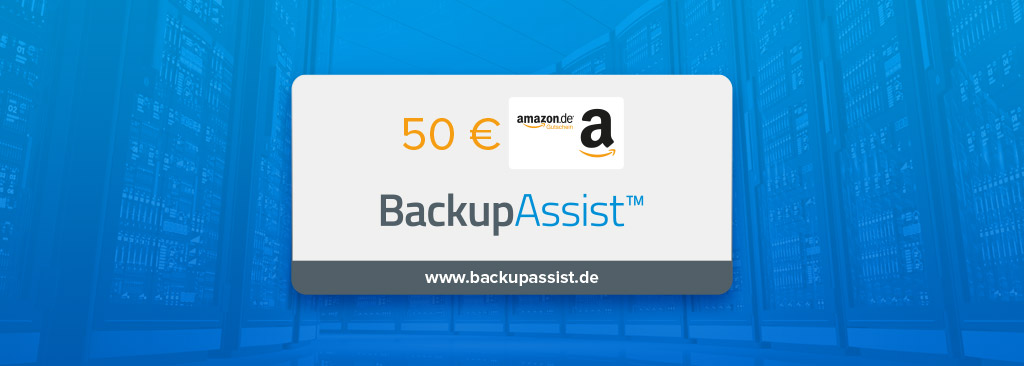 BackupAssist Gutschein-Aktion