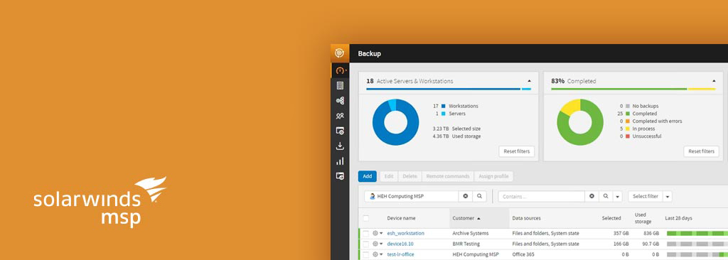 SolarWinds Backup für Office 365