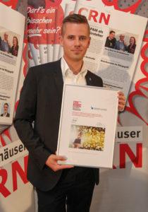 CRN-Award 2018 Alexander Hassel