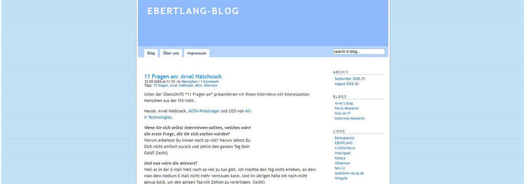 10 Jahre EL-Blog
