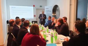 Andreas Schröder präsentierte die Datensicherungsplattform von Carbonite