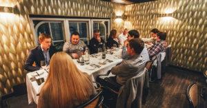 Abendessen im Restaurant Pageou von Ali Güngörmüş