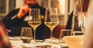 Die Weinkarte im Pageou bot ein breites Spektrum an rund 300 Weinen