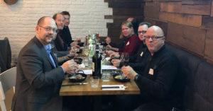 Die Fachhandelspartner im Restaurant Ahoi by Steffen Henssler