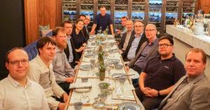 Beim Besuch im Sterne-Restaurant von Tim Raue.