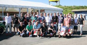 Die Teilnehmer des Formel-Events.