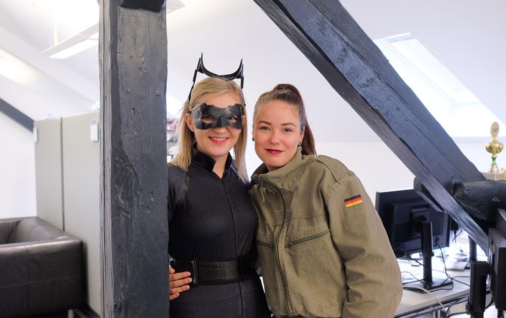 Melina und Steffi aus unserem Inside Sales-Team