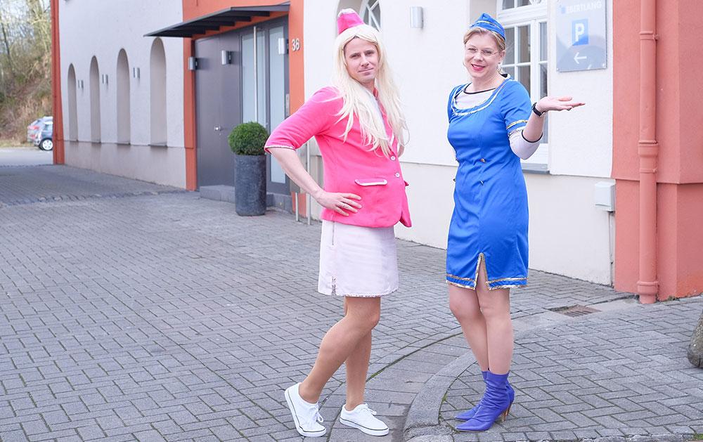 Unsere Value Added-Saftschubsen Alex und Verena