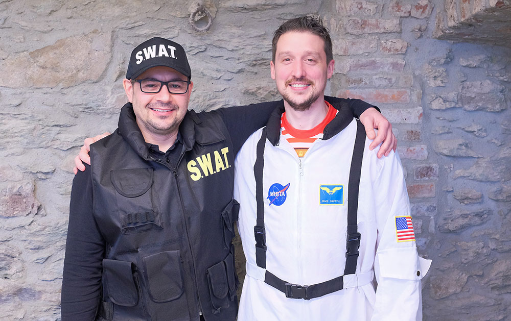 Unsere Support-Veteranen Manuel und Steffen