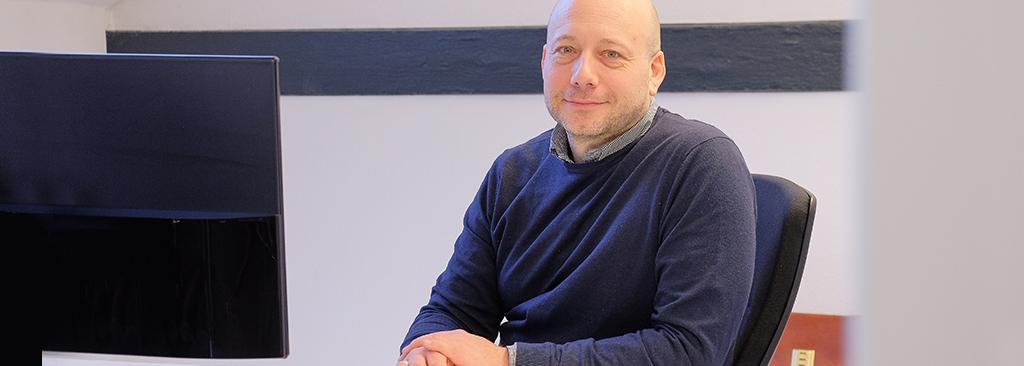 Seit 2020 unser 3. Geschäftsführer: Marcus Zeidler