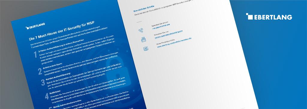 MSP-Security Checkliste