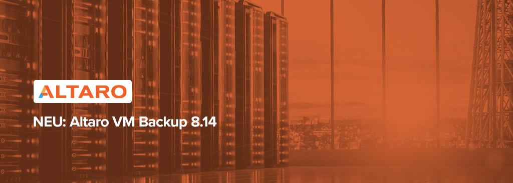 Altaro VM Backup 8.14