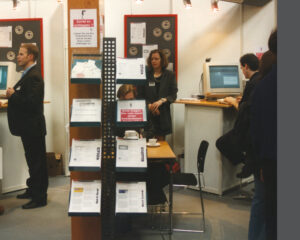 Nostalgie 1998: EBERTLANG erstmals auf der CeBIT