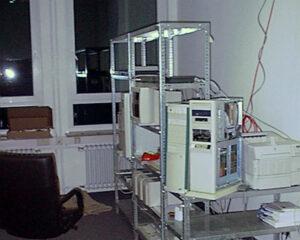 1998: der erste EL-Serverraum