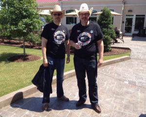 Steffen Ebert und Volker Lang zu Besuch bei MDaemon Technologies in Texas 2012