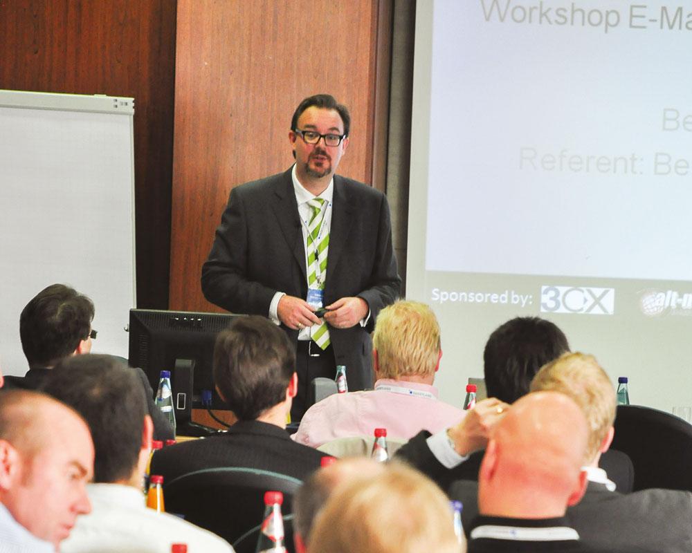 Volker Lang beim EL-Partnertag 2010 in Bad Nauheim