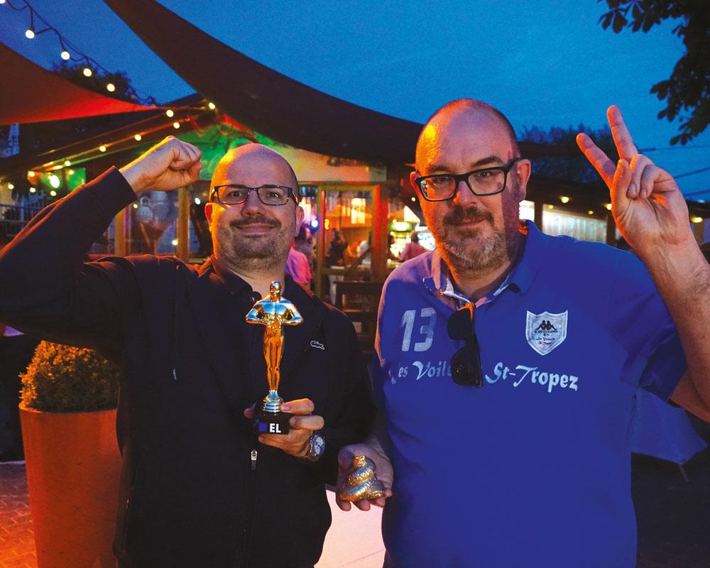 """Sommerfest 2019: Steffen Ebert gewinnt das Spiel """"Wer kennt seine Kollegen am besten?"""""""