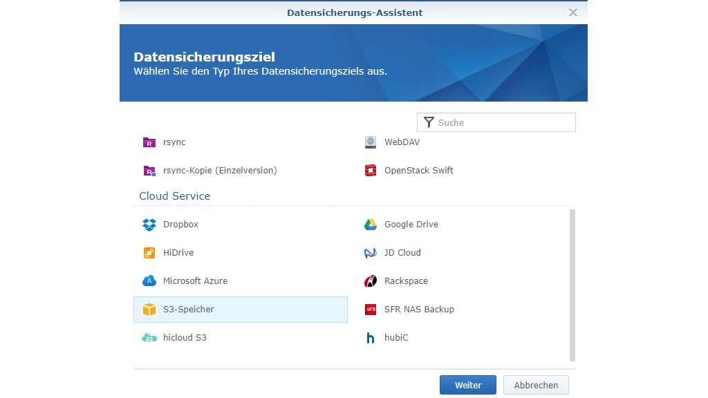 BackupAssist Datensicherungsassistent